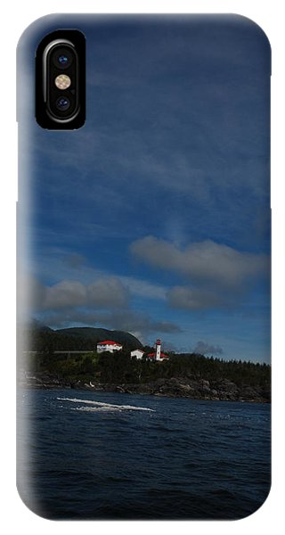 Friendly Cove From A Distance IPhone Case