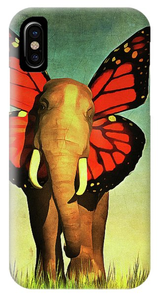 Friendly Elephant IPhone Case