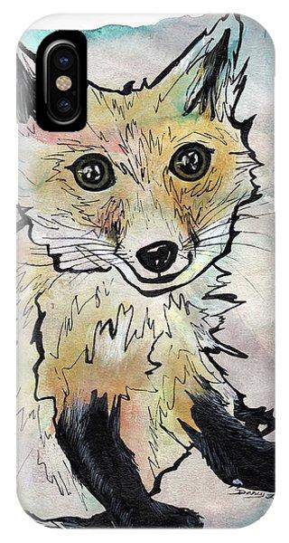 Friendly Fox IPhone Case