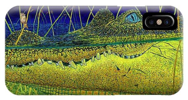 Swamp Gathering IPhone Case