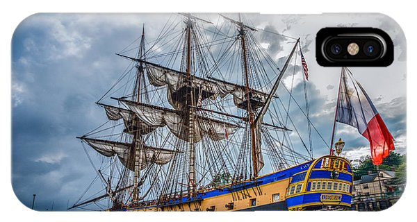 Frigate Hermione 01 IPhone Case