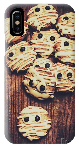 Dessert iPhone Case - Fright Night Party Baking by Jorgo Photography - Wall Art Gallery