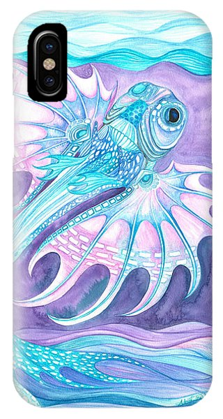Frilled Fish IPhone Case