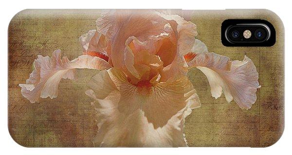 Frilly Iris IPhone Case