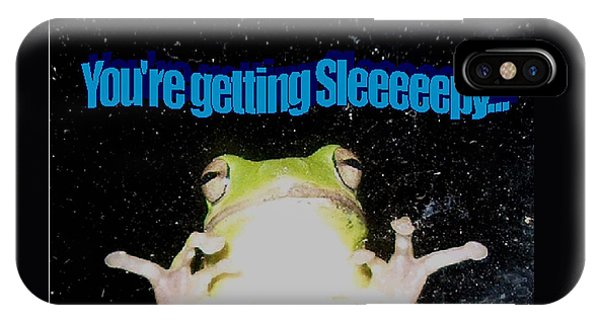 Frog  You're Getting Sleeeeeeepy IPhone Case