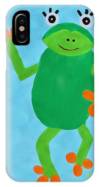 Froggie IPhone Case
