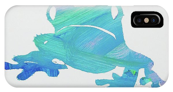 Froggie Friend IPhone Case