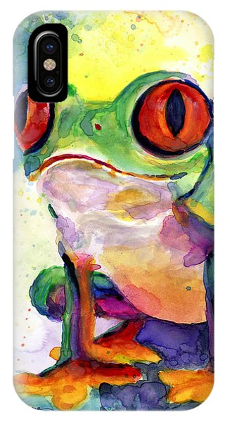 Froggy Mcfrogerson IPhone Case