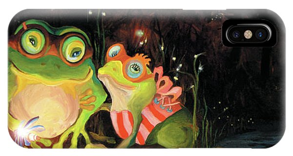 Frogs At Silver Lake IPhone Case