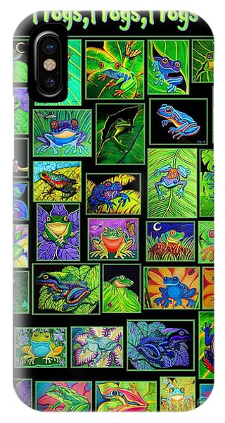 Frogs Poster IPhone Case