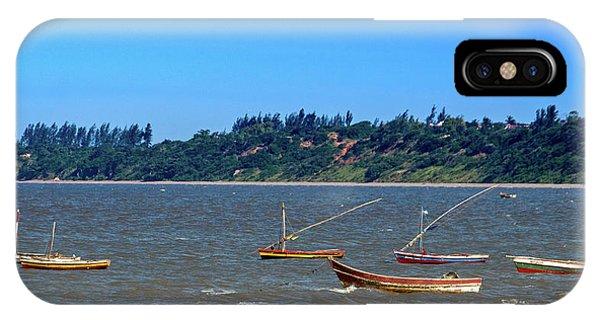 Frolicking Fishing Boats At Ketembe IPhone Case