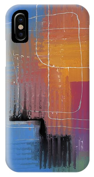 IPhone Case featuring the mixed media From The Beginning by Eduardo Tavares