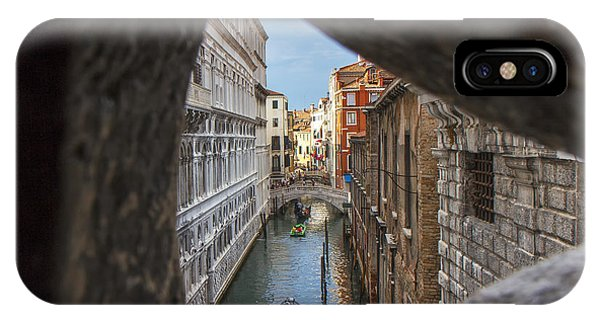 From The Bridge Of Sighs Venice Italy Phone Case by Rick Starbuck