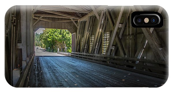 From The Inside Looking Out - Shimanek Bridge IPhone Case