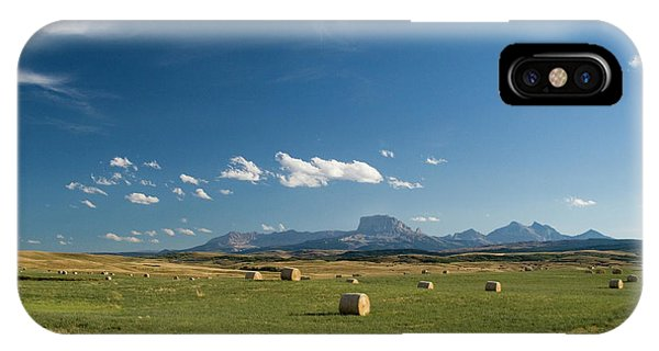 From The Prairie To The Rockies IPhone Case