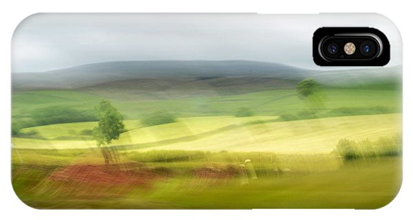 heading north of Yorkshire to Lake District - UK 1 IPhone Case