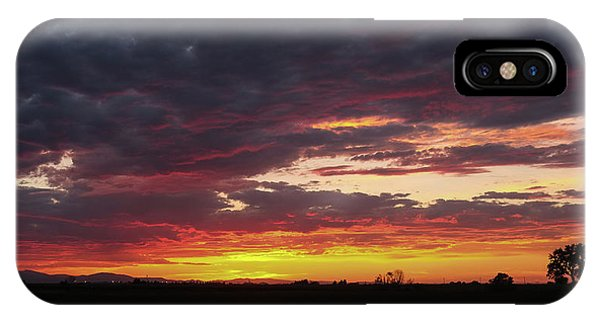 Front Range Sunset IPhone Case