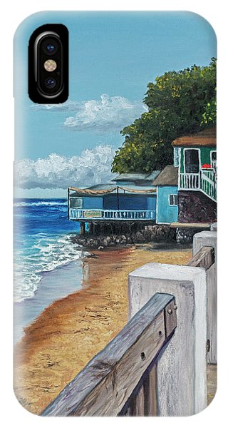 Front Street Lahaina IPhone Case