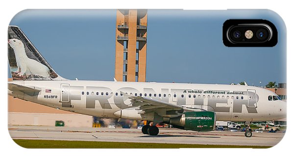 Frontier Airline IPhone Case