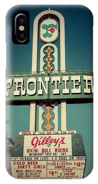 Frontier Hotel Sign, Las Vegas IPhone Case