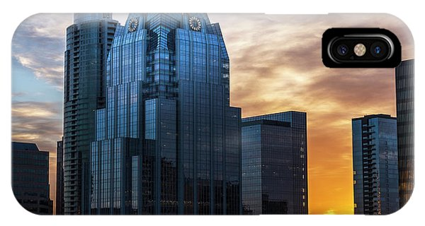 Frost Bank Tower IPhone Case
