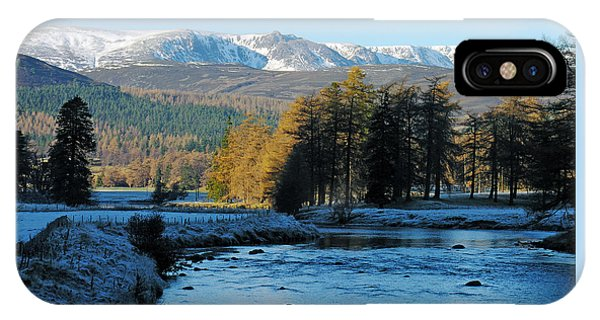 Frost In The Glen - Invercauld IPhone Case