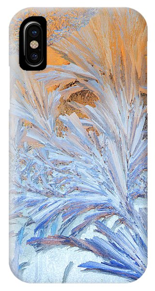Frost Patterns On Window IPhone Case