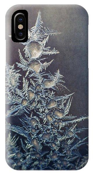 Fractal iPhone Case - Frost by Scott Norris