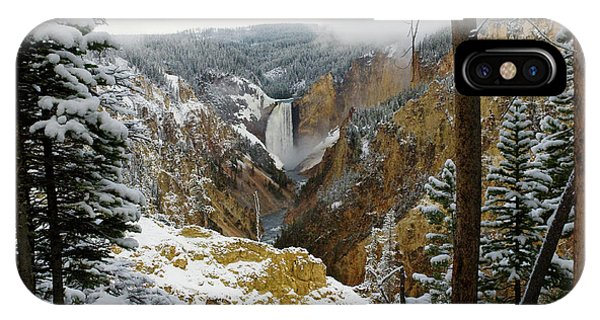 Frosted Canyon IPhone Case