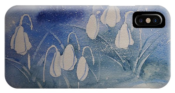 Frosty Bells IPhone Case