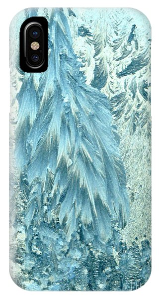 Frosty Forest IPhone Case