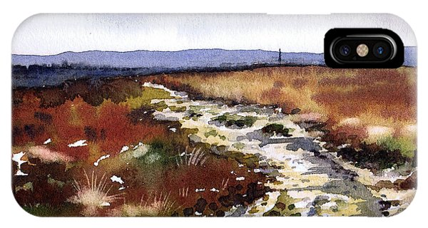 iPhone Case - Frosty Lane Norland by Paul Dene Marlor