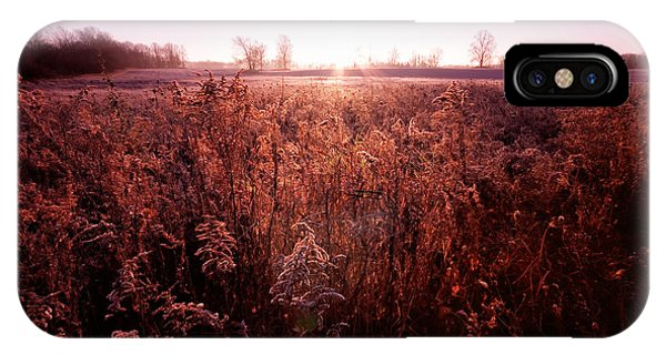 IPhone Case featuring the photograph Frosty Sunrise by Lars Lentz