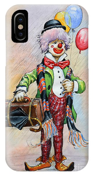iPhone Case - Frosty The Clown by Anthony Forster