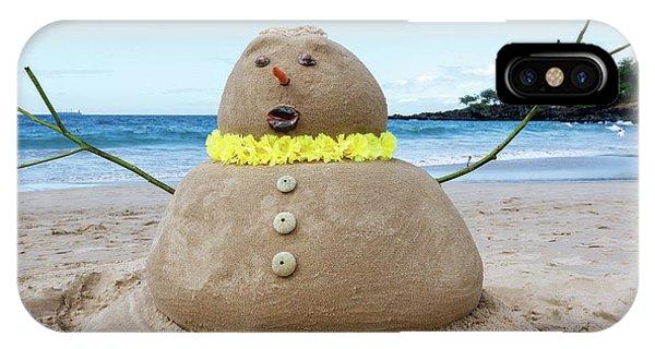 Frosty The Sandman IPhone Case
