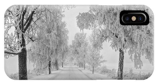 Salo iPhone Case - Frosty Winter Morning by Veikko Suikkanen
