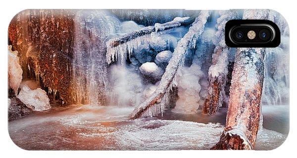Frozen Avalon Fantasy Falls IPhone Case