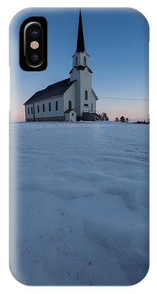 Lutheran iPhone Case - Frozen Belleview by Aaron J Groen