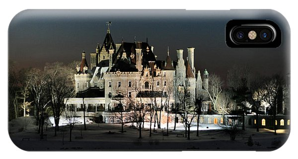Frozen Boldt Castle IPhone Case