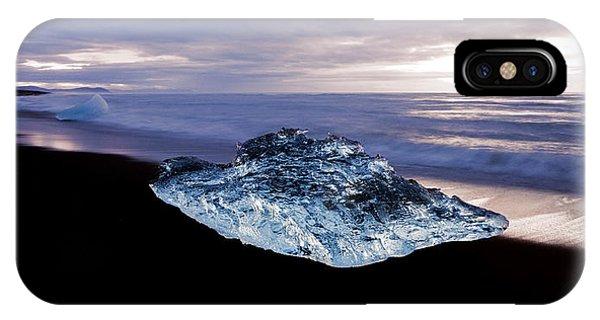 Glacier Bay iPhone Case - Frozen Diamond by Brad Scott