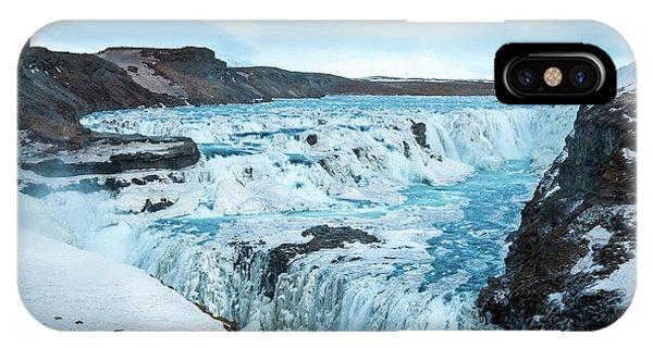 Frozen Gullfoss IPhone Case