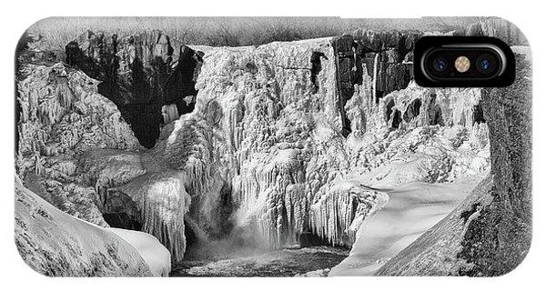 Frozen High Falls IPhone Case
