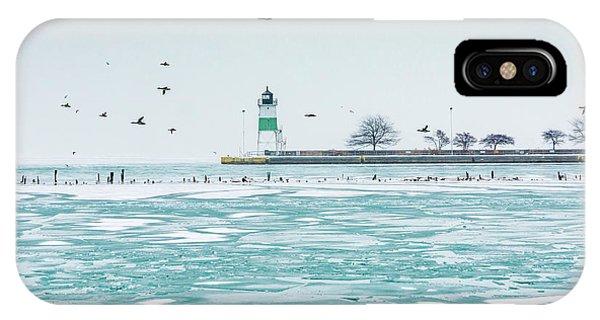 Frozen In Chicago IPhone Case