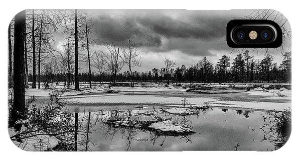 Frozen Mullica River IPhone Case