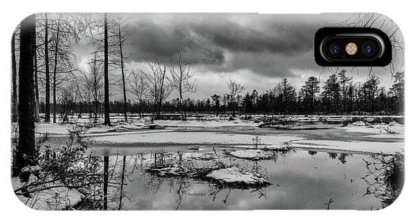 Frozen Mullica River IPhone Case