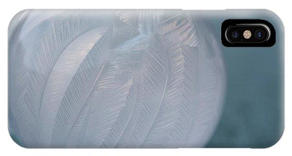 Frozen Soap Bubble -georgia IPhone Case