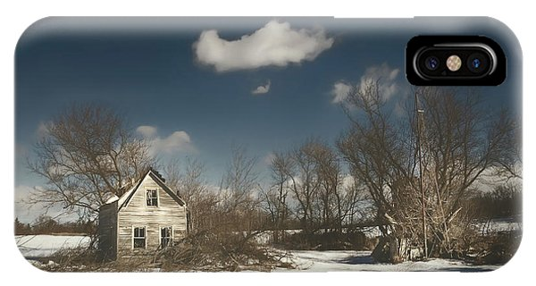 Abandoned Houses iPhone Case - Frozen Stillness by Scott Norris