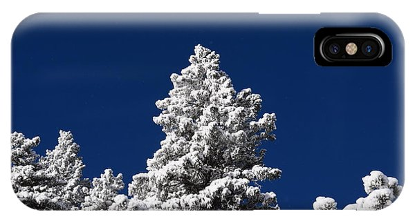 Frozen Tranquility Ute Pass Cos Co IPhone Case
