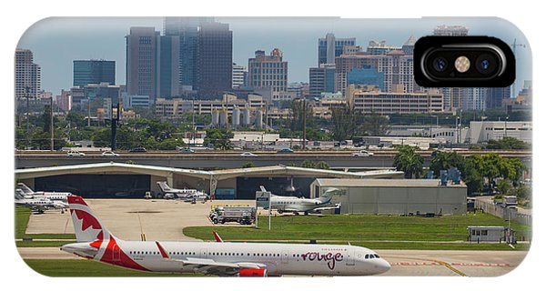 Frt Lauderdale Airport/city IPhone Case