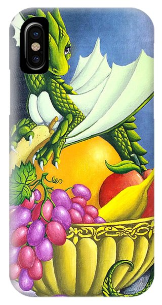 Fruit Dragon IPhone Case